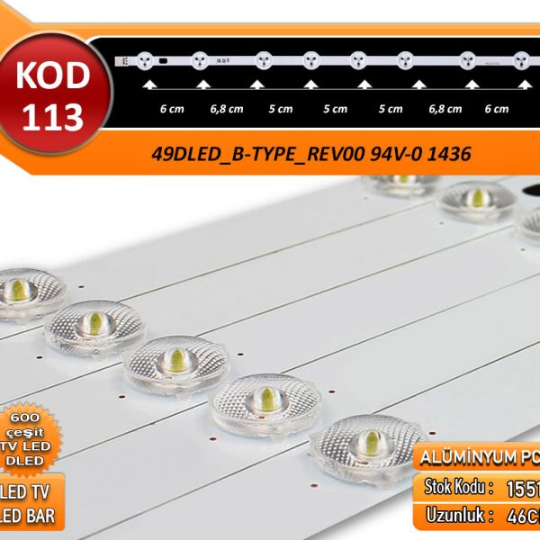 Tv Led Bar Dled Vestel 49Dled_B-Type_Rev00 94V-0 1436