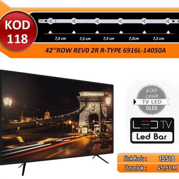 TV LED BAR LG 45.50 CM KOD 118 4 LED