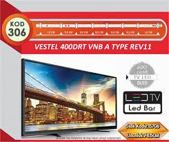 TV LED BAR DLED VESTEL 74.50CM 8 LED KOD 306