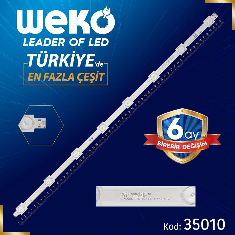 LG 32'' INCH TKD320022000-X2-A YAL03-0083528M-01 A-TYPE 62.5 Cm Tv Led Bar