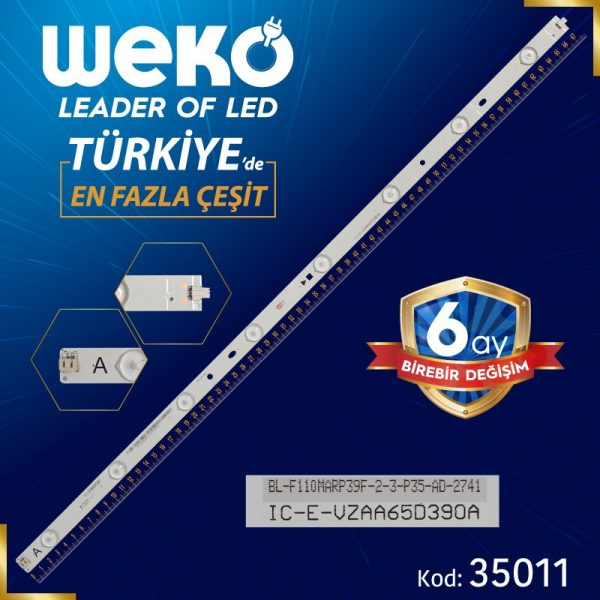 Samsung 65'' Inch IC-E-VZAA65D390A A-TYPE 67.9 Cm Tv Led Bar