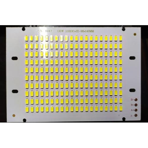 100w 5730 Projektör Led Beyaz 30-36v