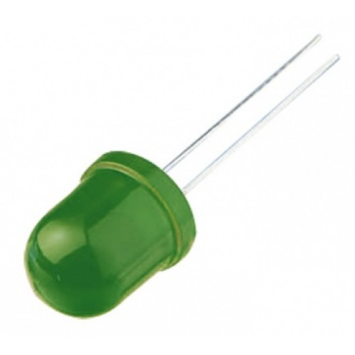 10mm Led Yeşil